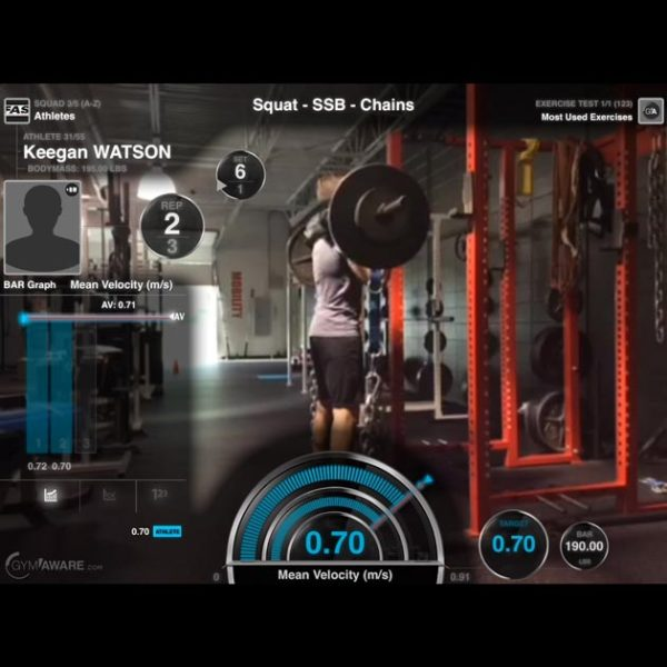 Using the GymAware