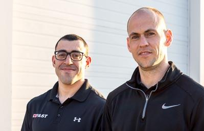 Tony Giuliano and Ty Terrell